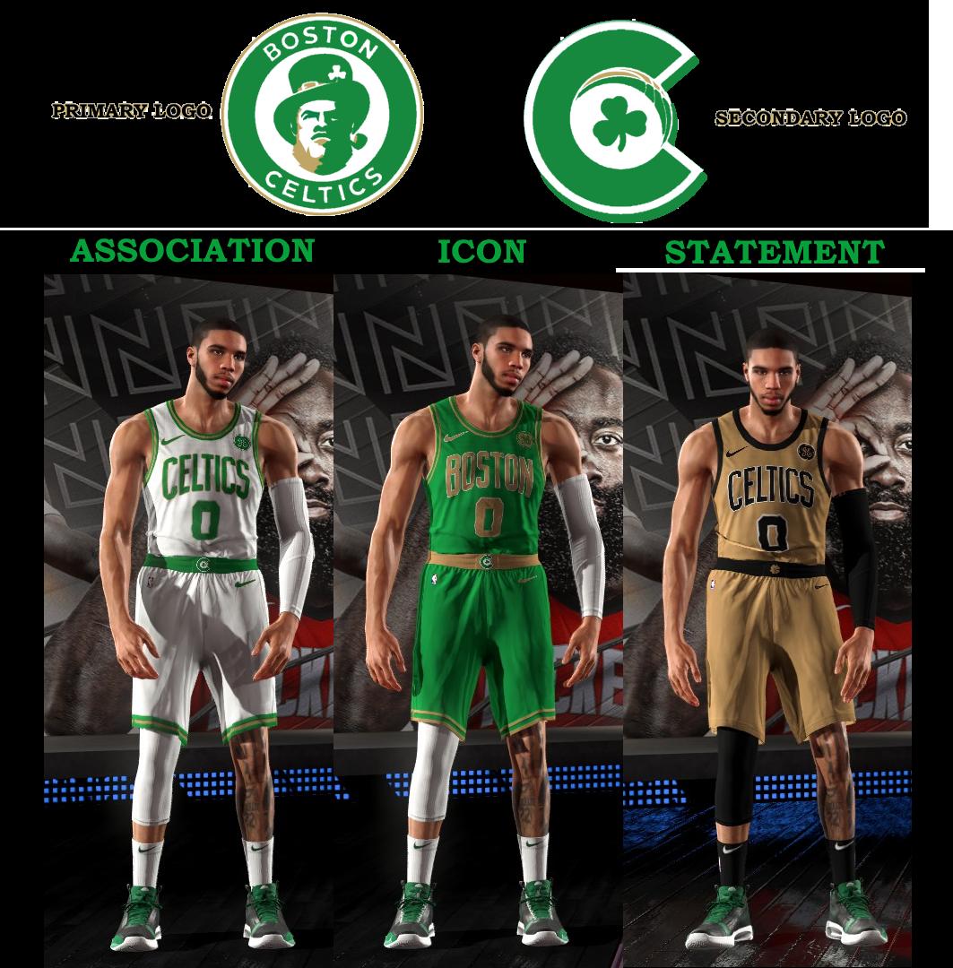 Nlsc Forum Rebrand The Nba Concept Celtics V2 Hawks Release