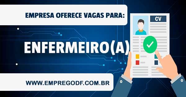 EMPREGO PARA ENFERMEIRO ROTINEIRO