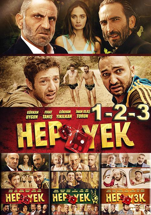Hep Yek | 1-2-3 | Yerli Film | BoxSet | m1080p | WEB-DL | Sansürsüz | Tek Link