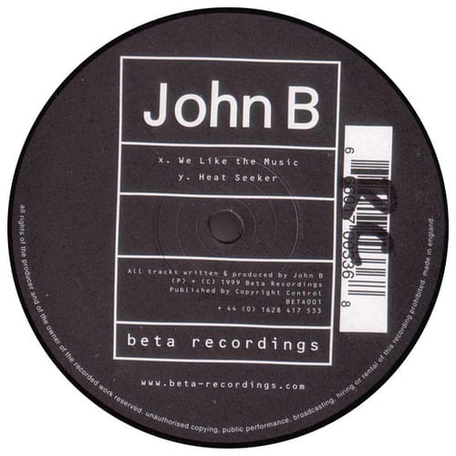 John B - We Like The Music / Heat Seeker