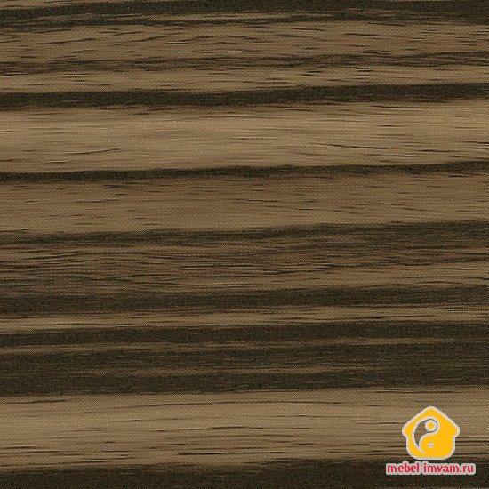 МДФ 1853 Зебрано темный глянец