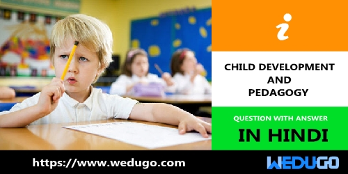 Child Development and Pedagogy Question and answer in hindi