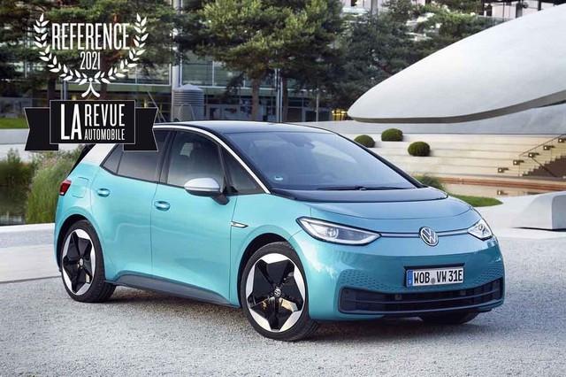 L'ID.3 élue « Berline Electrique de Référence 2021 » par La Revue Automobile DB2020-AU01072medium-copie