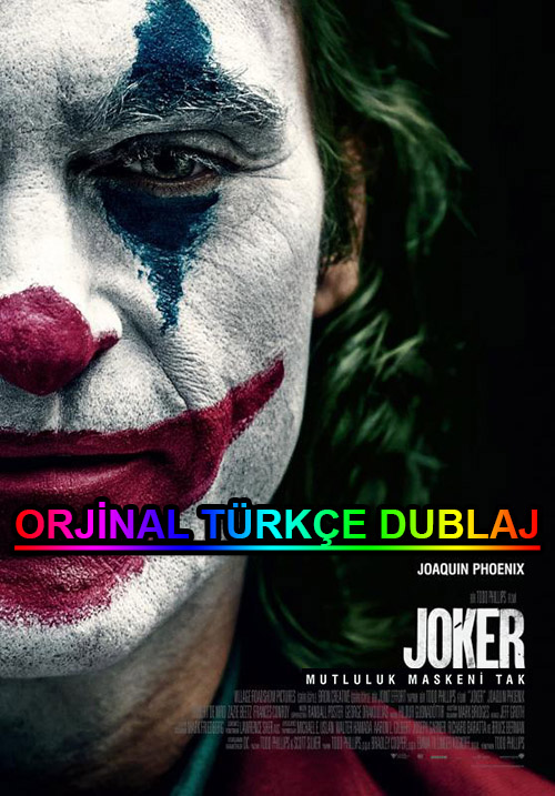 Joker | 2019 | BDRip | XviD | Türkçe Dublaj | m720p - m1080p | BluRay | Dual | TR-EN | Tek Link