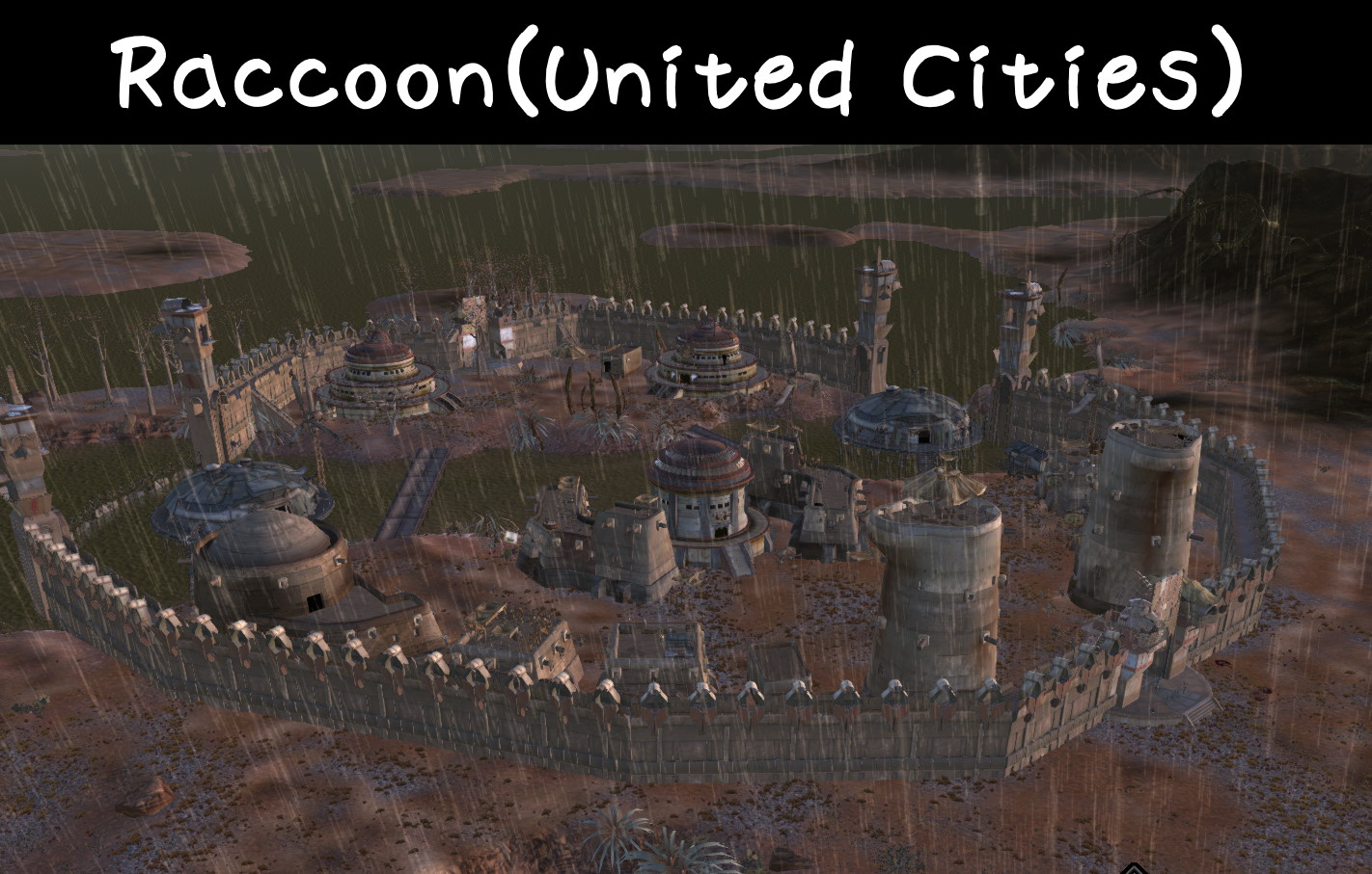 More City and Outpost / Больше городов и форпостов (RU)