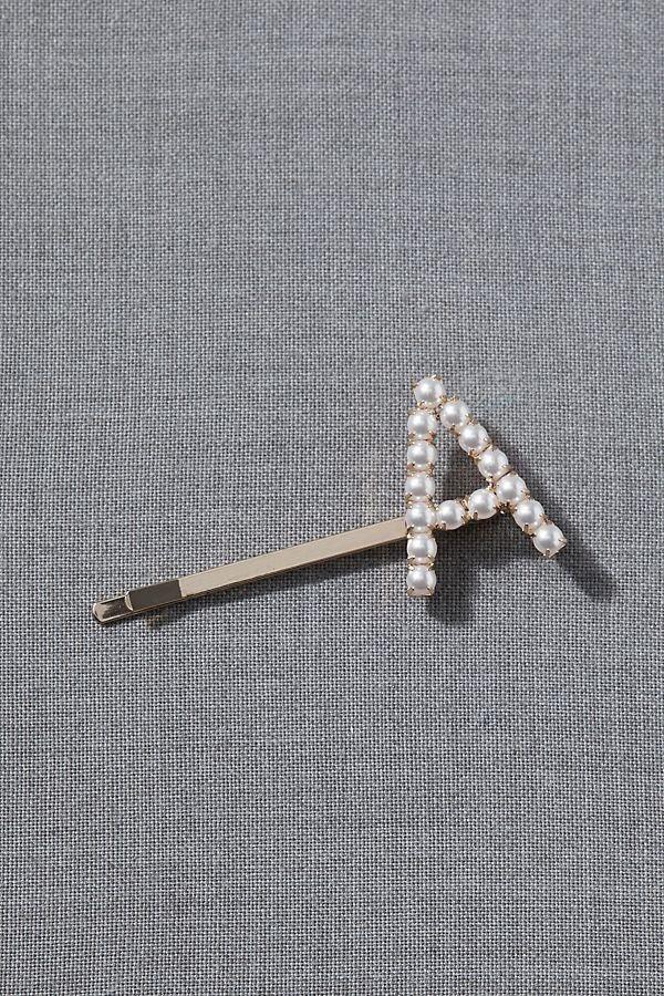 Anthropologie Monogram Hair Pin
