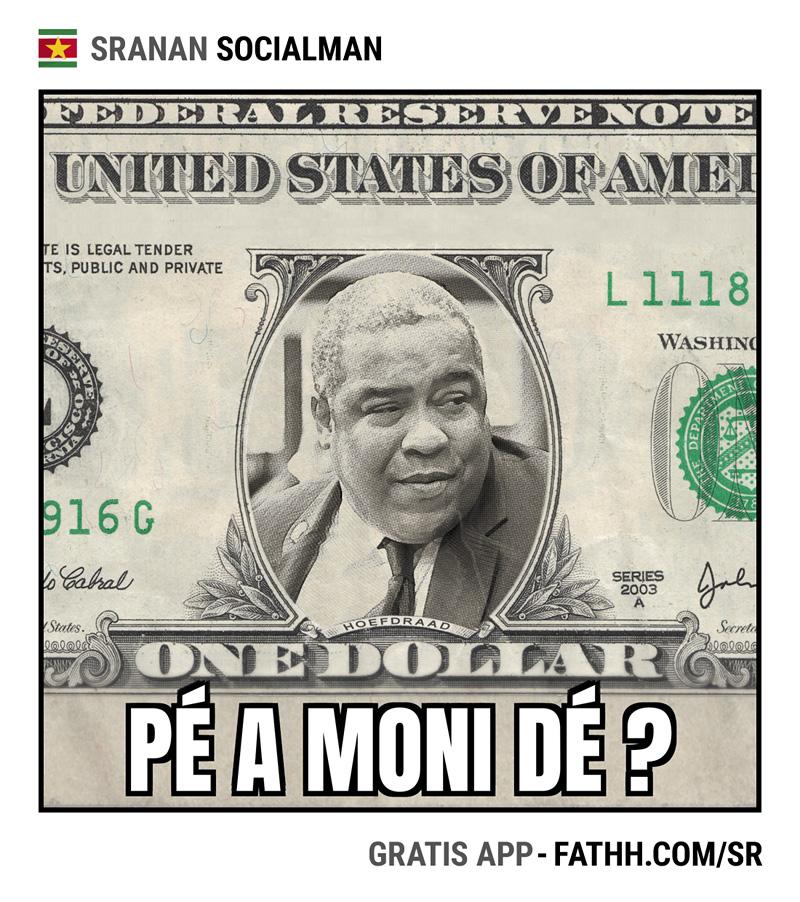 Sranan Socialman : Pe a Moni De