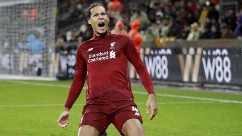 Van Dijk Jadi Pemain Terbaik Liga Primer Inggris