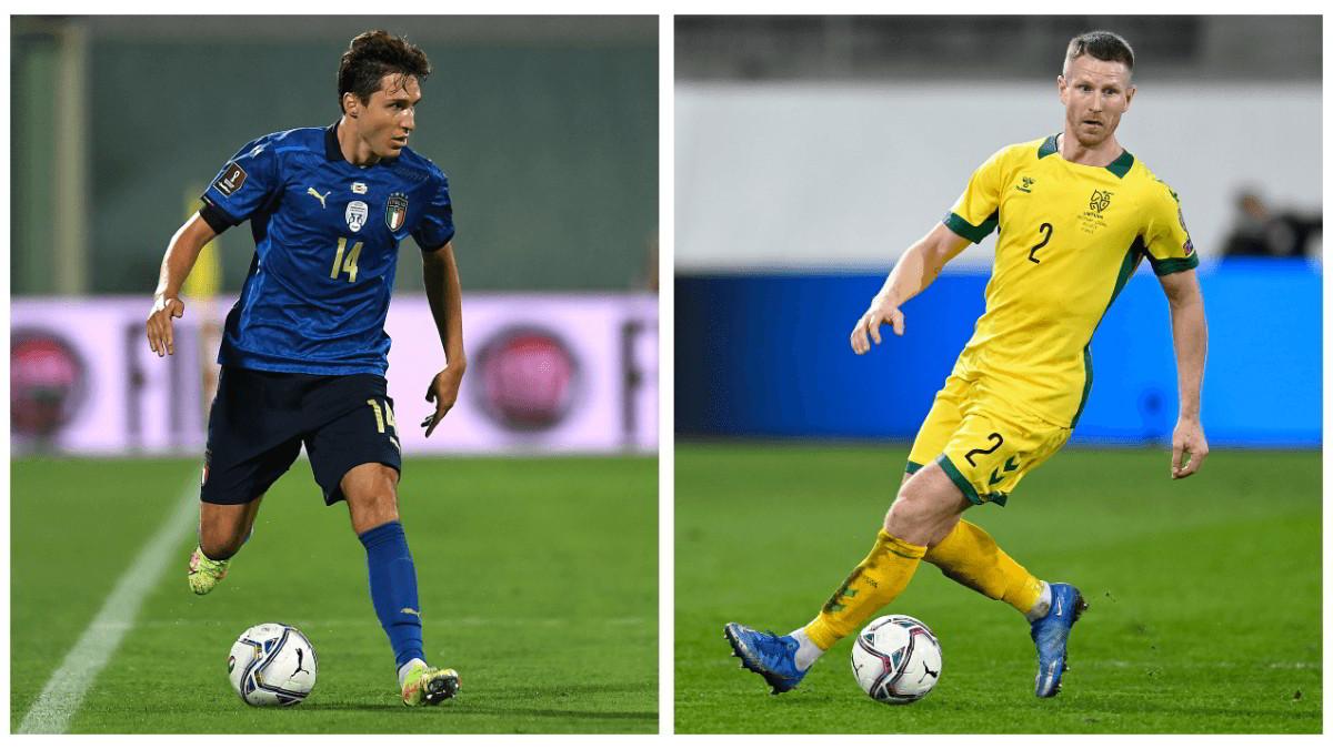 Dove vedere ITALIA LITUANIA Streaming TV Online: Qualificazione Mondiali Qatar 2022
