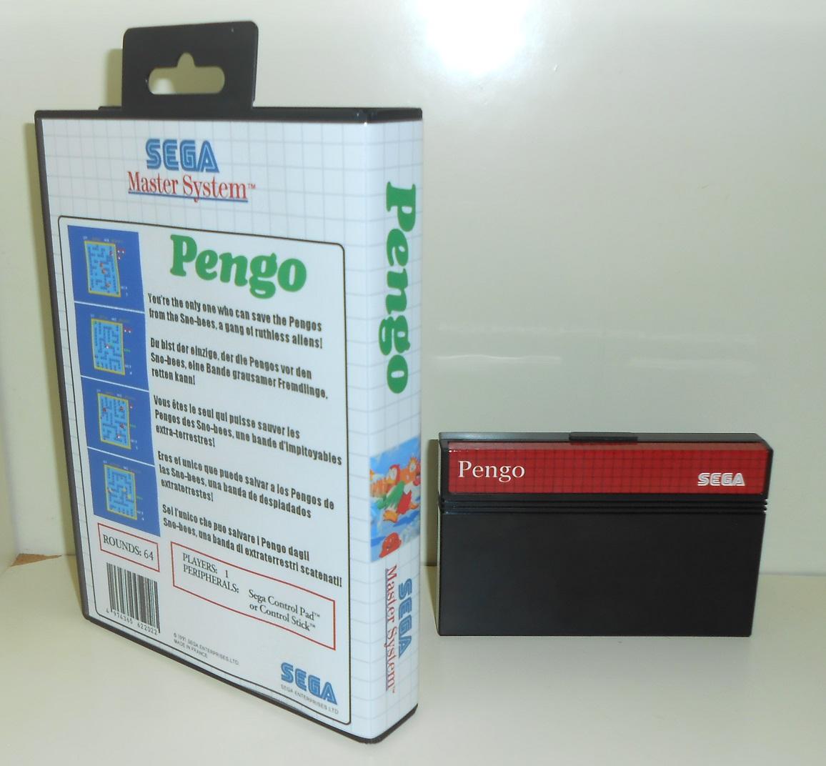 Pengo Master System pour 99 Francs fdp in!  DSCN1768