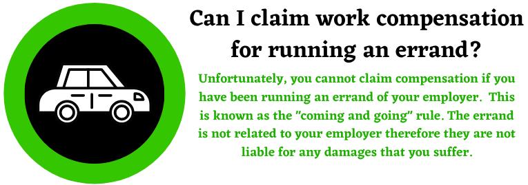 compensation for running an errand