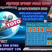 PREDIKSI TOGEL SYDNEY PALAPATOTO 18 NOVEMBER 2019