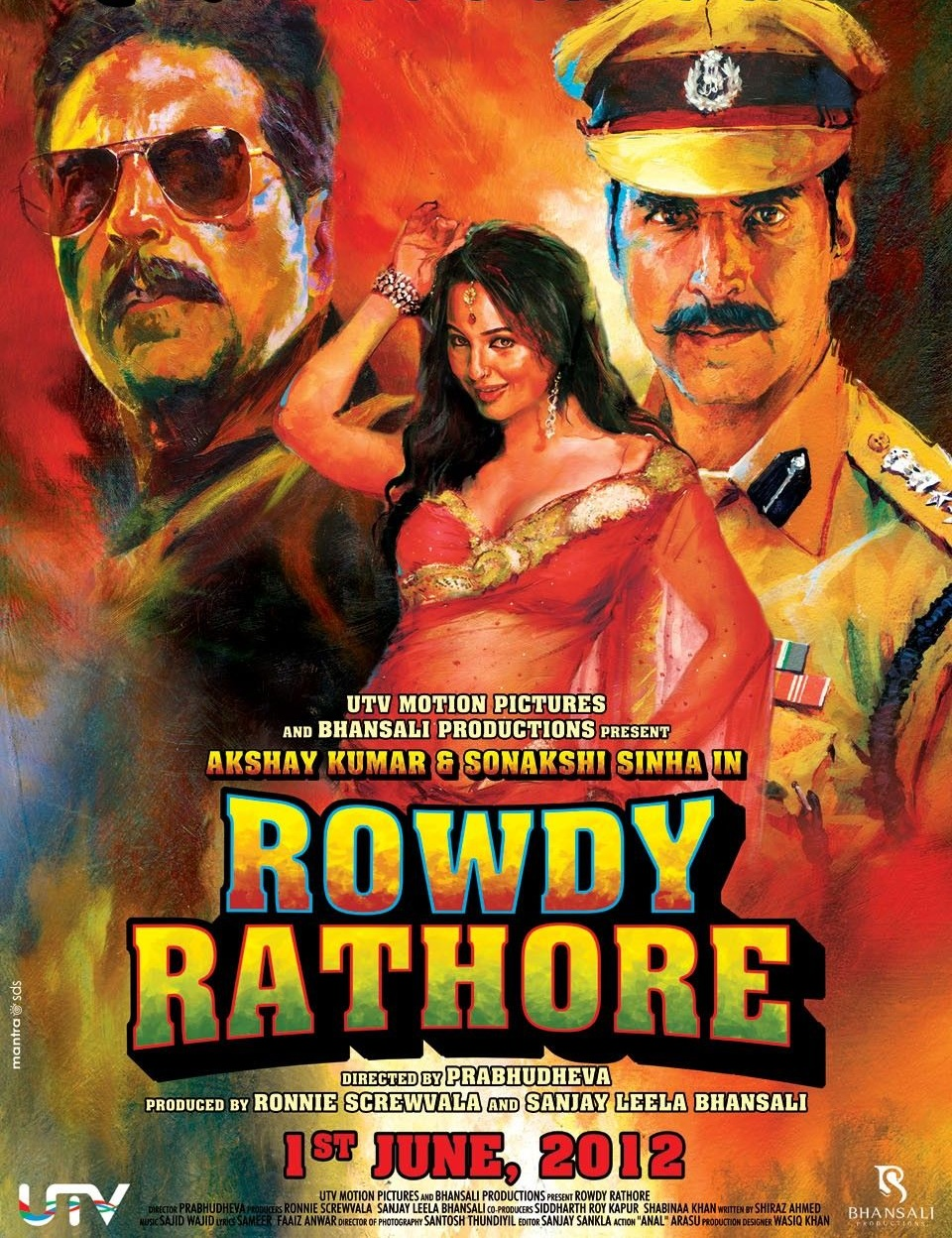 Rowdy Rathore (2012) Hindi 480p Bluray x264 AAC 400MB ESub