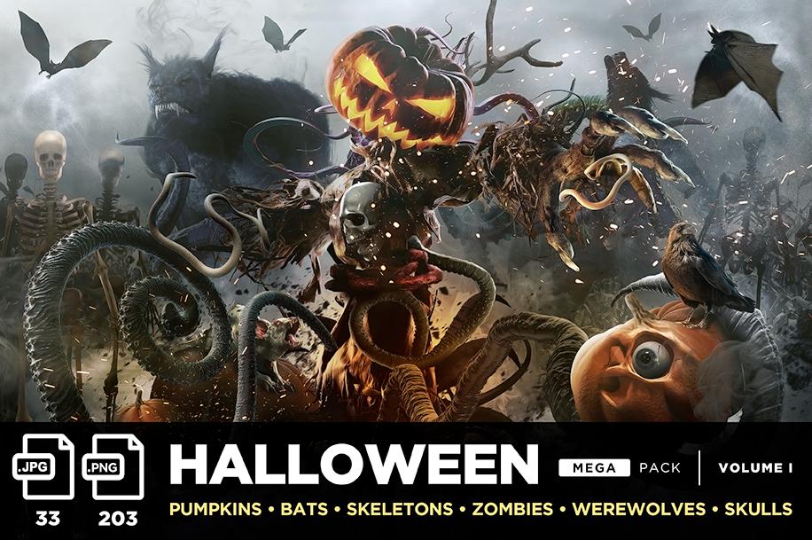 halloween mega stock pack neostock