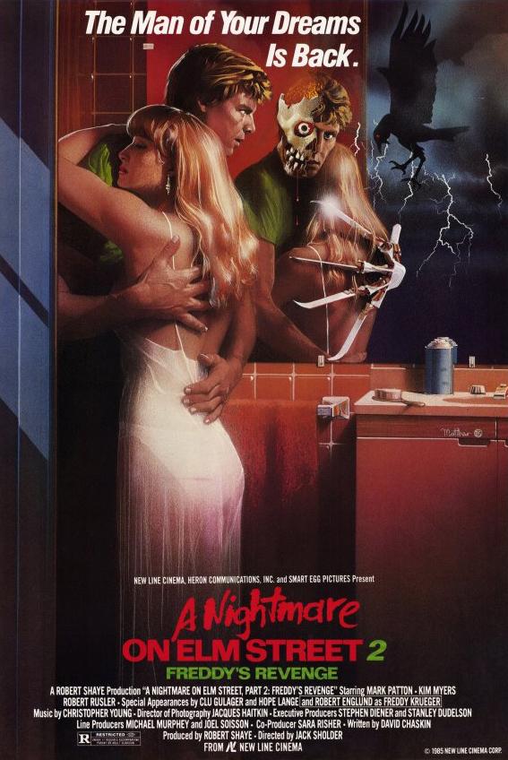 A Nightmare on Elm Street 2 Freddy's Revenge 1985 Hindi Dual Audio 720p BluRay ESubs 650MB   300MB Download