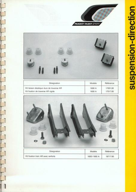 Catalogue PTS pièces compétition - 205 GTI 1600-1900 gr. N/A PTS-Suspension-Direction-8