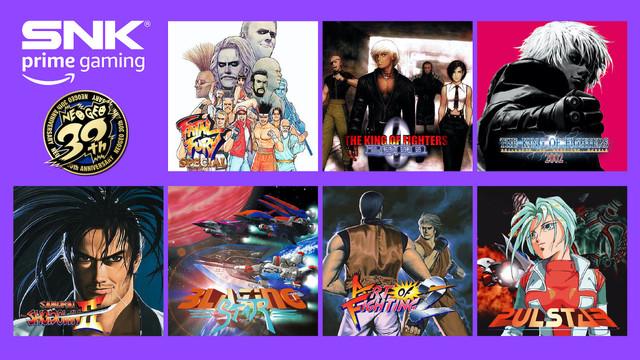 今日起,8款SNK人氣遊戲 在Prime Gaming免費上線! Prime-gaming-01