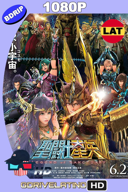 Saint Seiya: Los Caballeros del Zodiaco La leyenda del Santuario (2014) BDrip 1080p Latino-Japonés MKV