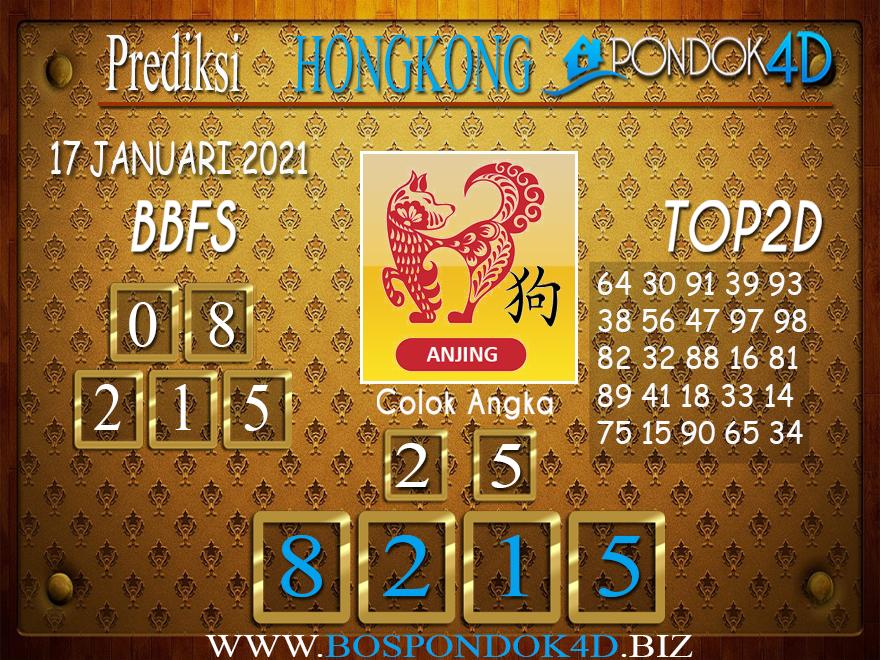 Prediksi Togel HONGKONG PONDOK4D 17 JANUARI 2021