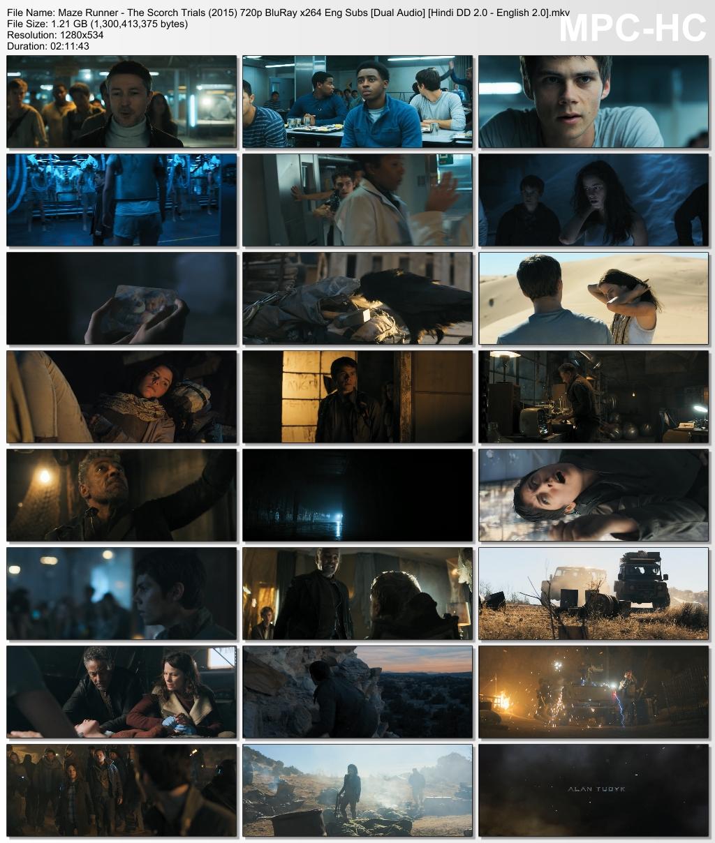 Maze Runner The Scorch Trials bingtorrent Screen shots