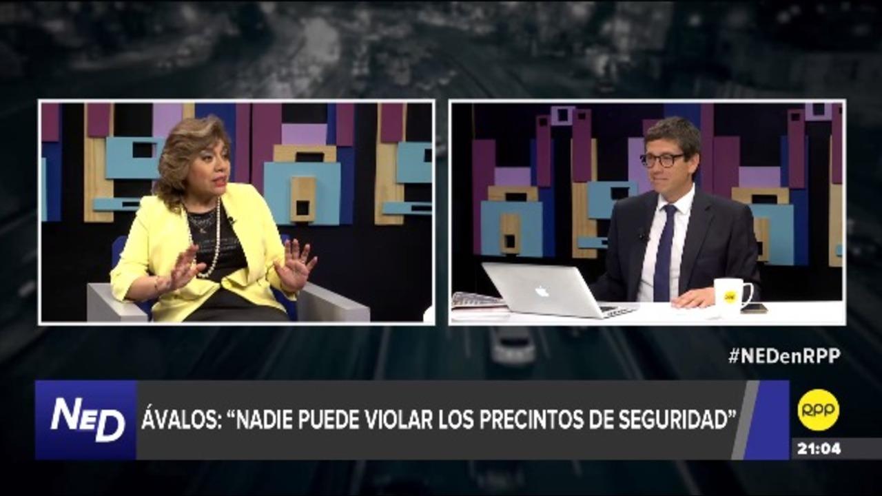 """Zoraida Ávalos: """"Me compete hacer una investigación preliminar"""