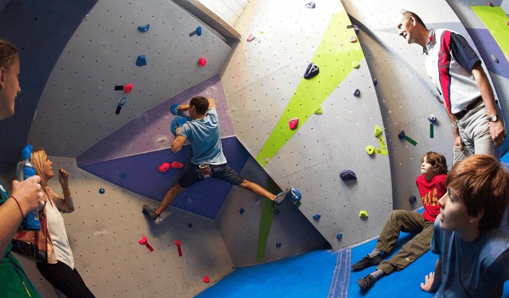Free Olympic Rock Climbing Athlete