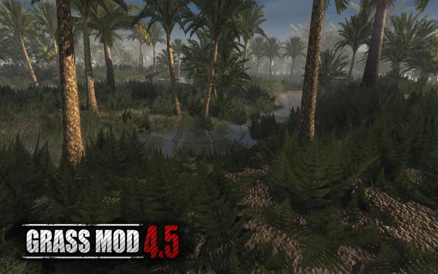 Скачать 3D модель Grass Mod 4.5