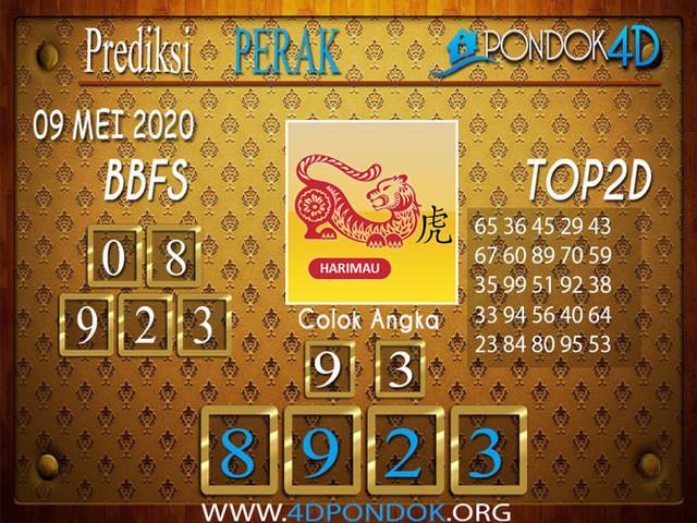 Prediksi Togel PERAK PONDOK4D 09 MEI 2020