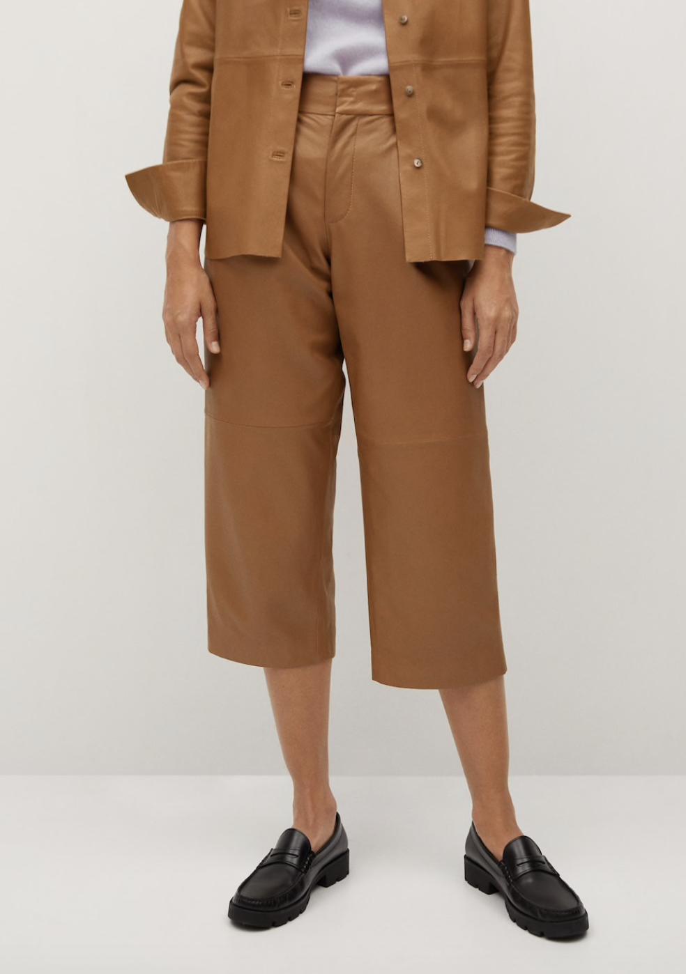 pantaloni in pelle AI 2020