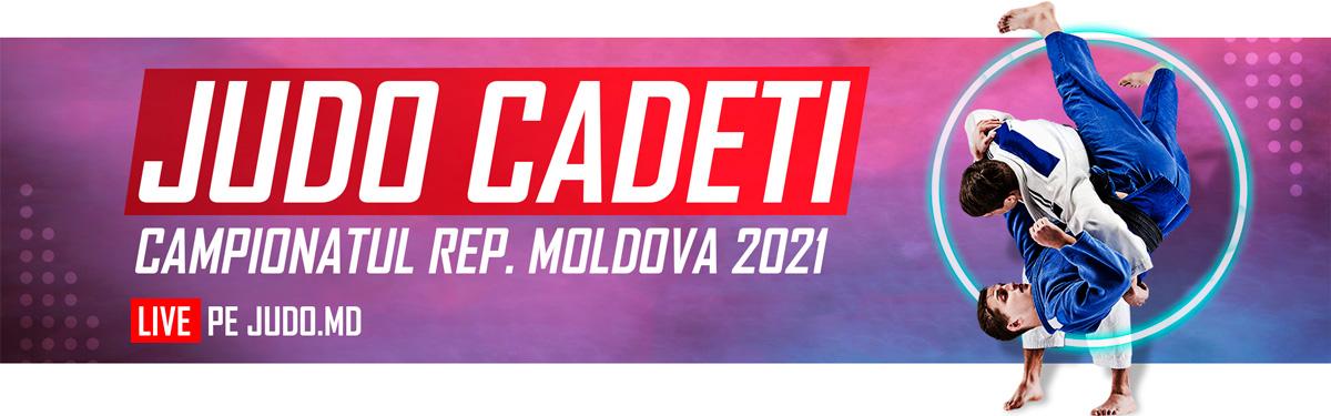 Campionatul Republicii Moldova pe Judo Cadeti 2021