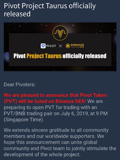 OPORTUNIDADE [Provado] Pivot - Ganha PVT tokens e Bitcoin - Android/iOS (Actualizado em Julho de 2019) PIVOTbinn