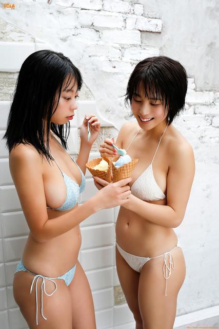 Inudo Minori & Aoyama Hikaru 犬童美乃梨 & 青山ひかる