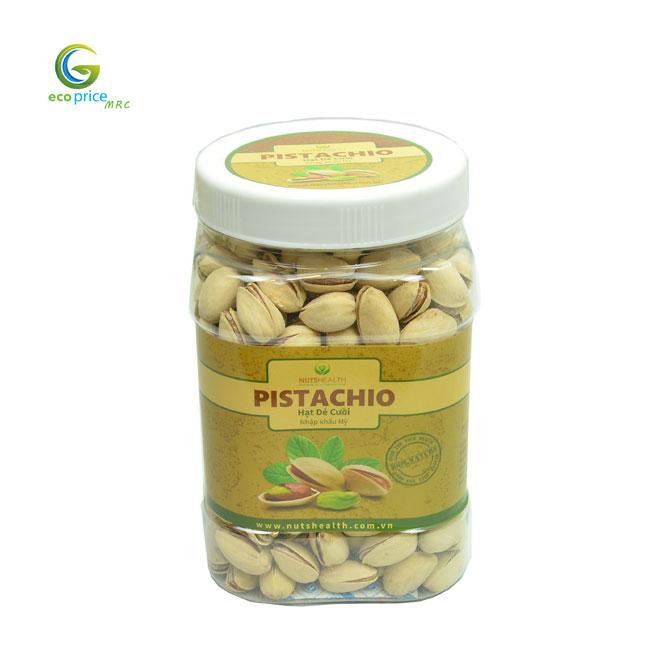 Hạt Dẻ Cười ( Pistachios ) – Hũ – 500g – Nutshealth