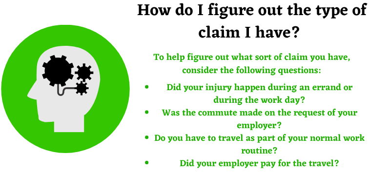 categories of injury claims