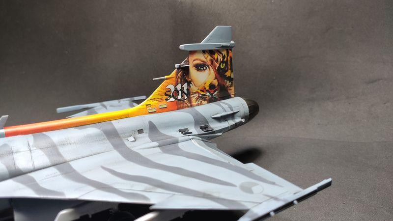"""MT: Jas-39C Gripen """"Wild Tiger"""" NTM 2017 Kitty Hawk 1/48 IMG-20200209-194931"""