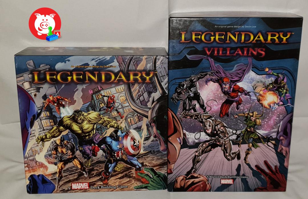 Marvel Legendary is niet in het Nederlands verkrijgbaar.