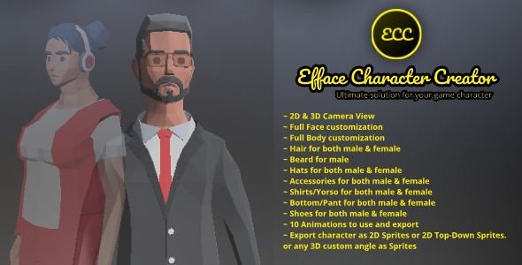 Efface Character Creator - Ultimate Solution For Your Game Character - 1