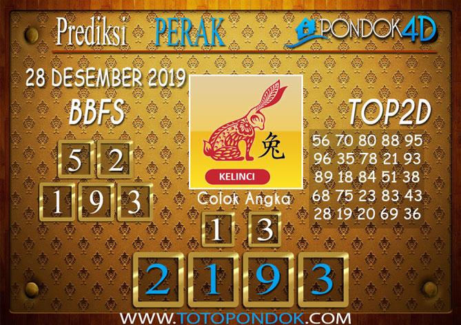 Prediksi Togel PERAK PONDOK4D 28 DESEMBER 2019