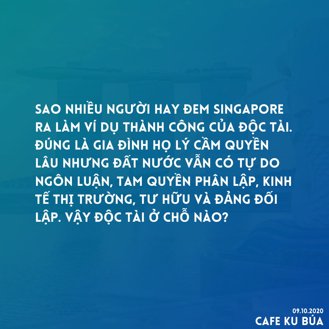 SINGAPORE ĐỘC TÀI