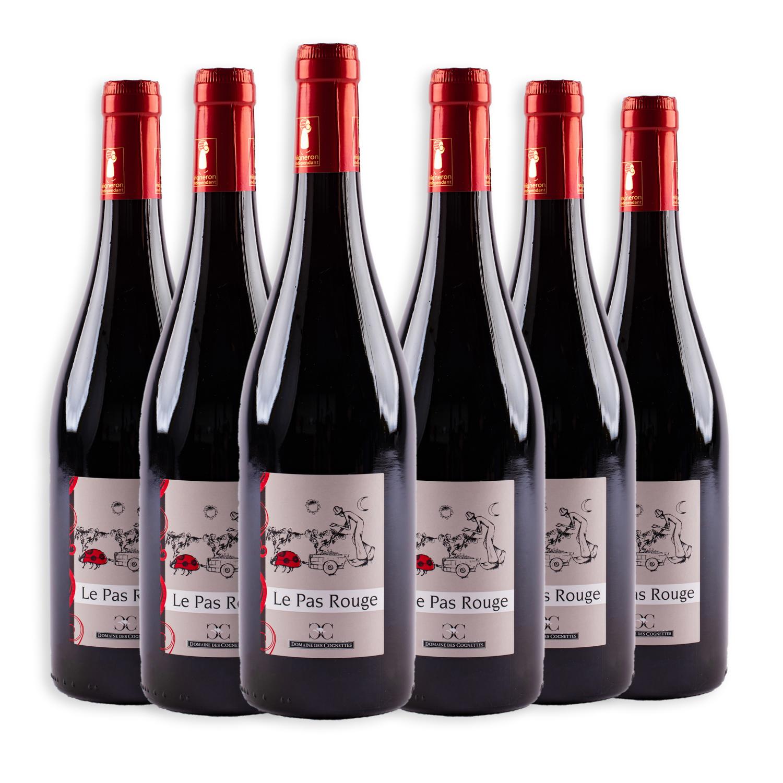 6 sticle x Domaine des Cognettes, Le Pas Rouge 2019 750ml