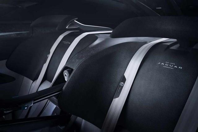 Jaguar Lève Le Voile Sur La Vision Gran Turismo SV : La Voiture De Course 100% Électrique Ultime Pour Les Passionnés De Course Automobile Jag-GTSV-typefibredetail1-161220