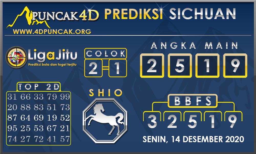 PREDIKSI TOGEL SICHUAN PUNCAK4D 14 DESEMBER 2020