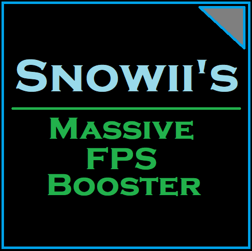 Snowii's FPS Booster & Removed Weather Effects