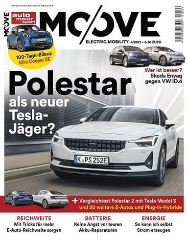 Cover: Auto Motor und Sport Magazin Moove Connected Mobility No 04 2021