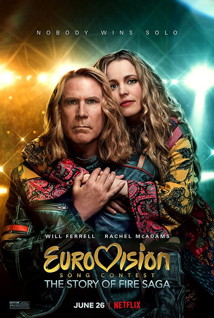 Eurovision Song Contest The Story of Fire Saga (2020) Dual Audio 480p NF WEB-DL [Hindi – English] 400MB