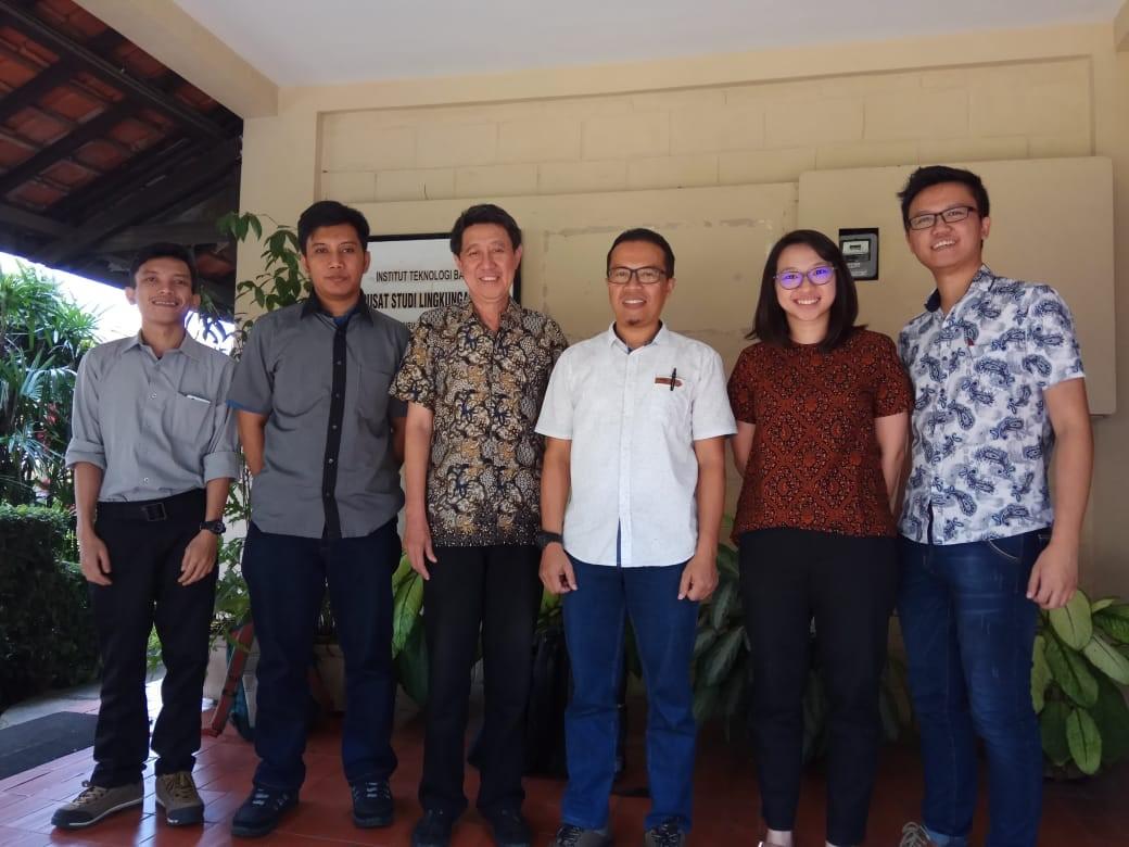 Progress Meeting di PSLH ITB
