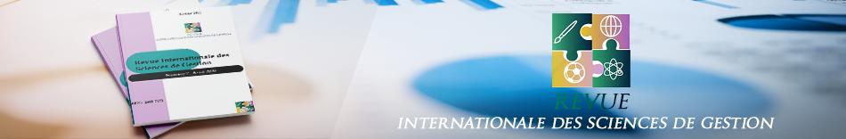 Revue Internationale des Sciences de Gestion