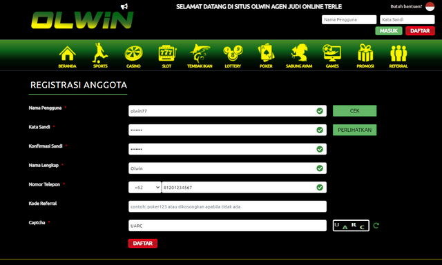 Register-OLWIN