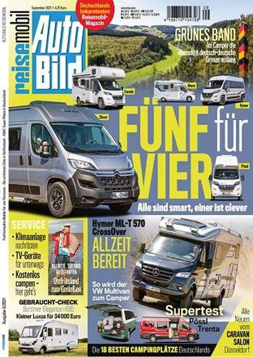 Cover: Auto Bild Reisemobil Magazin No 09 September 2021