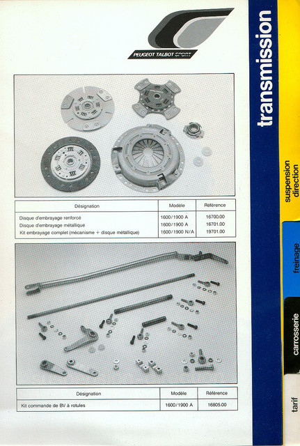 Catalogue PTS pièces compétition - 205 GTI 1600-1900 gr. N/A PTS-Transmission-3